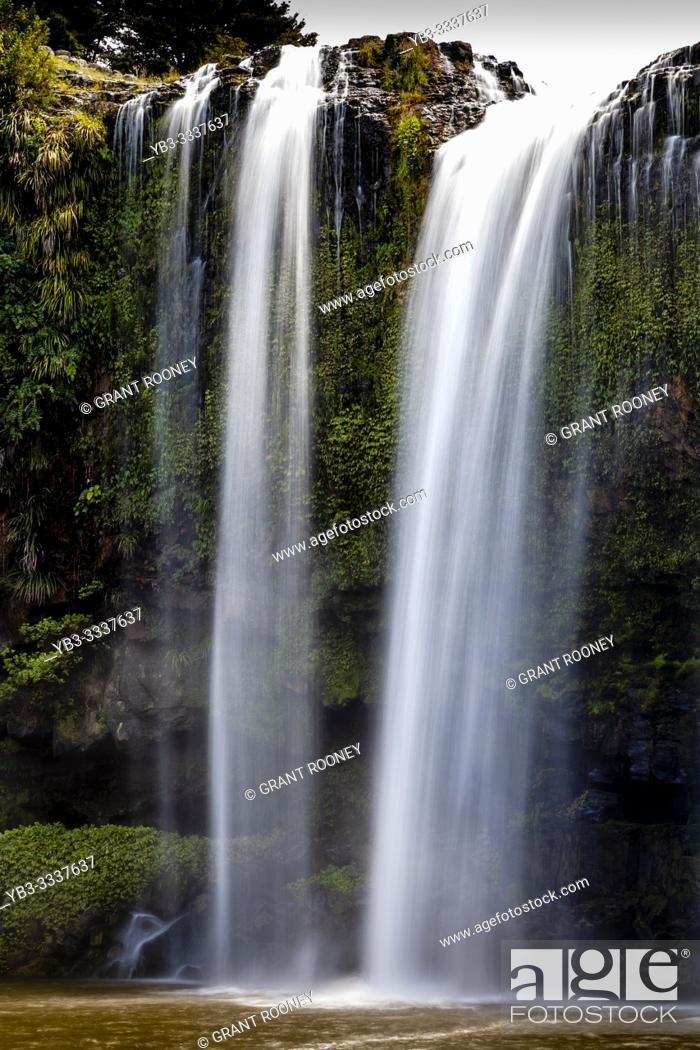 Stock Photo: Whangarei Falls, Whangarei, North Island, New Zealand.