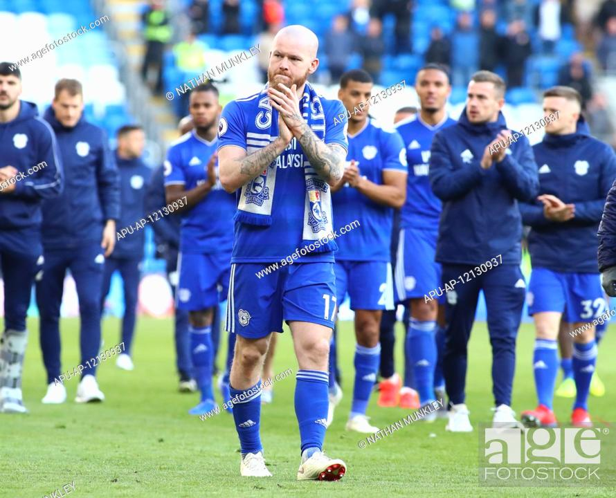 Stock Photo: 2019 EPL Premier League Football Cardiff City v Crystal Palace May 4th. 4th May 2019, Cardiff City Stadium, Cardiff, Wales; EPL Premier League football.
