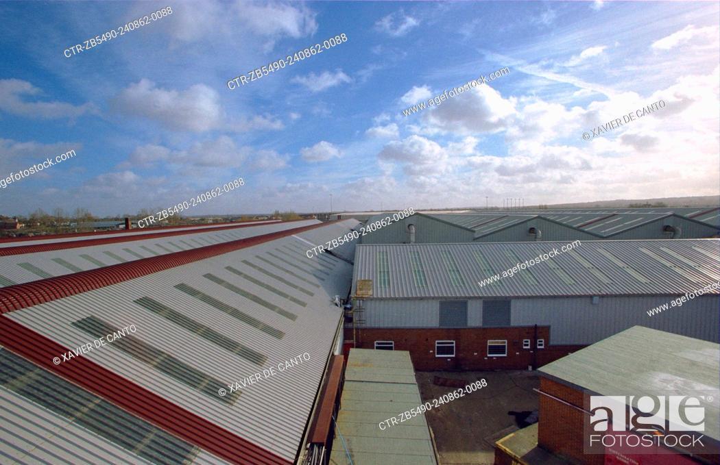 Stock Photo: Industrial warehouse, Selhurst depot.