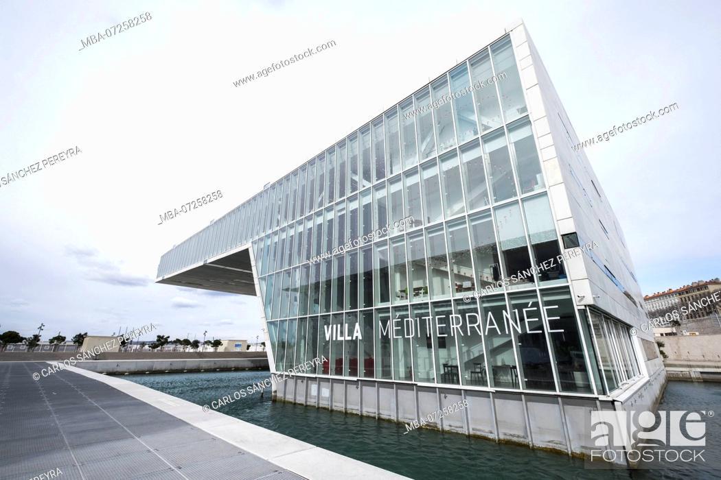 Marseille France Modernist Architecture Of The Villa Mediterranee