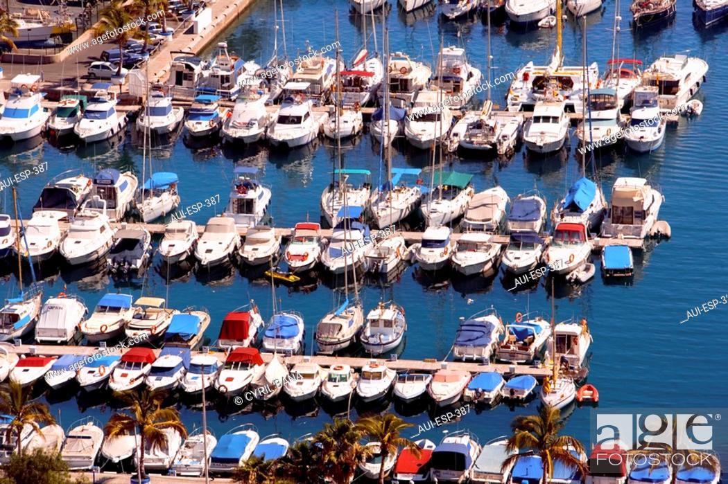 Stock Photo: Spain - Canary Islands - Gran Canaria - South Coast - Puerto Rico.