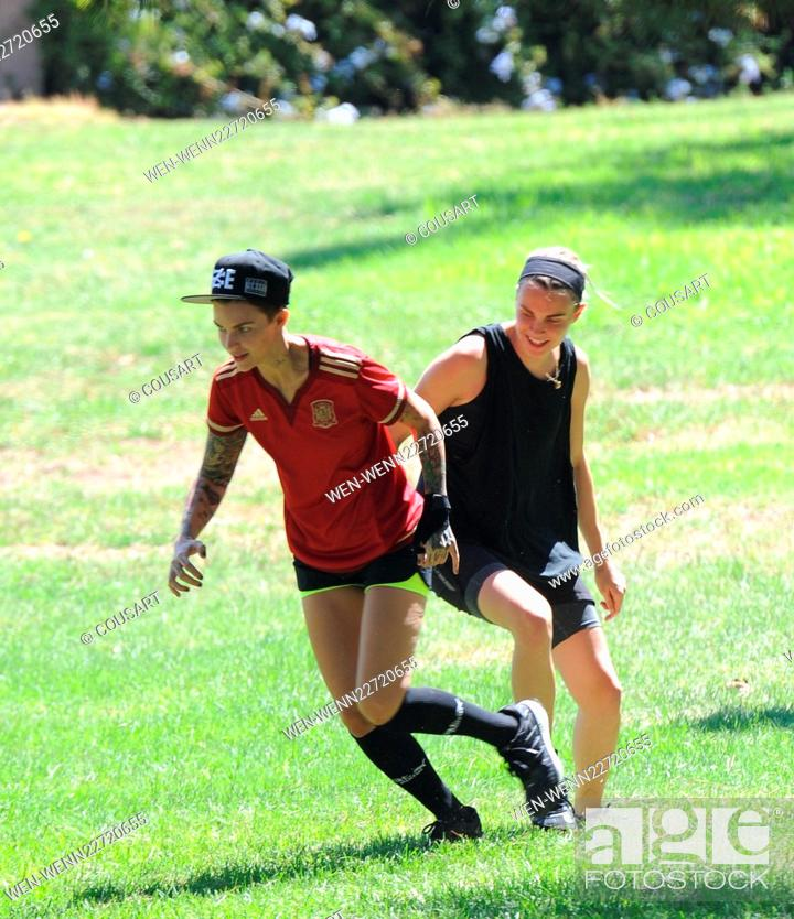 Orange Is The New Black Actress Ruby Rose Gets Competitive With Her