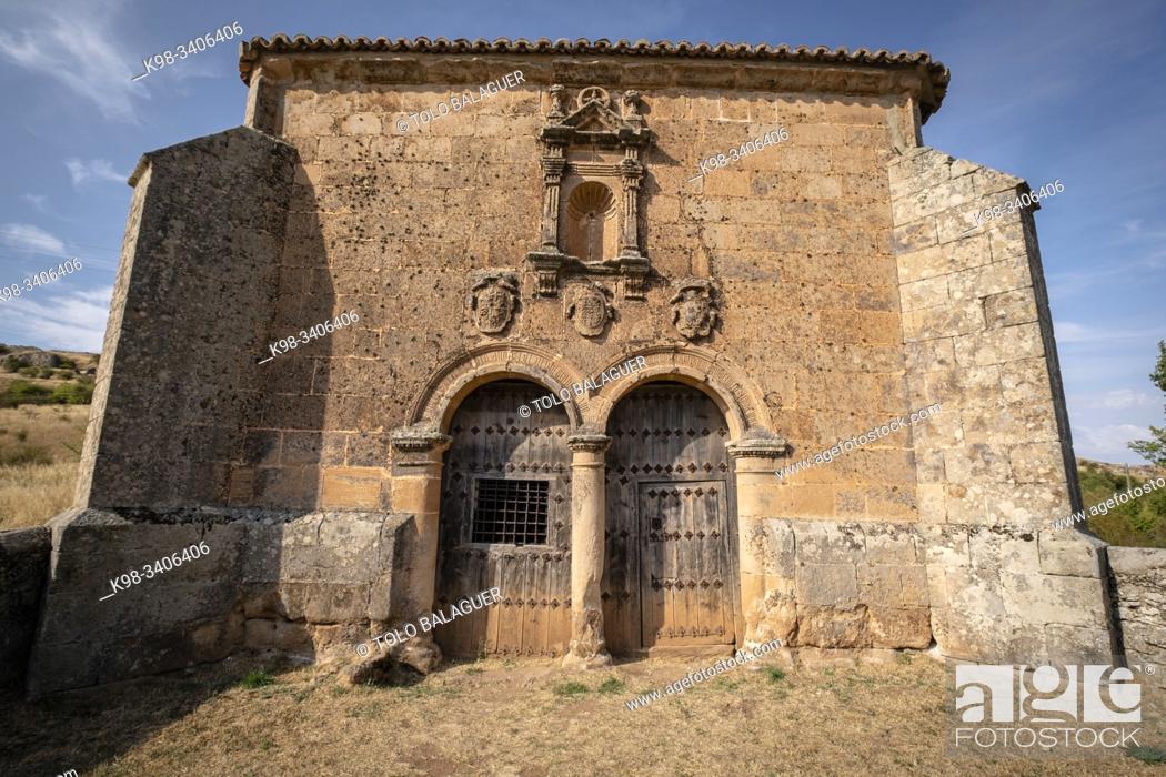 Imagen: ermita del Humilladero, Medinaceli, Soria, comunidad autónoma de Castilla y León, Spain, Europe.