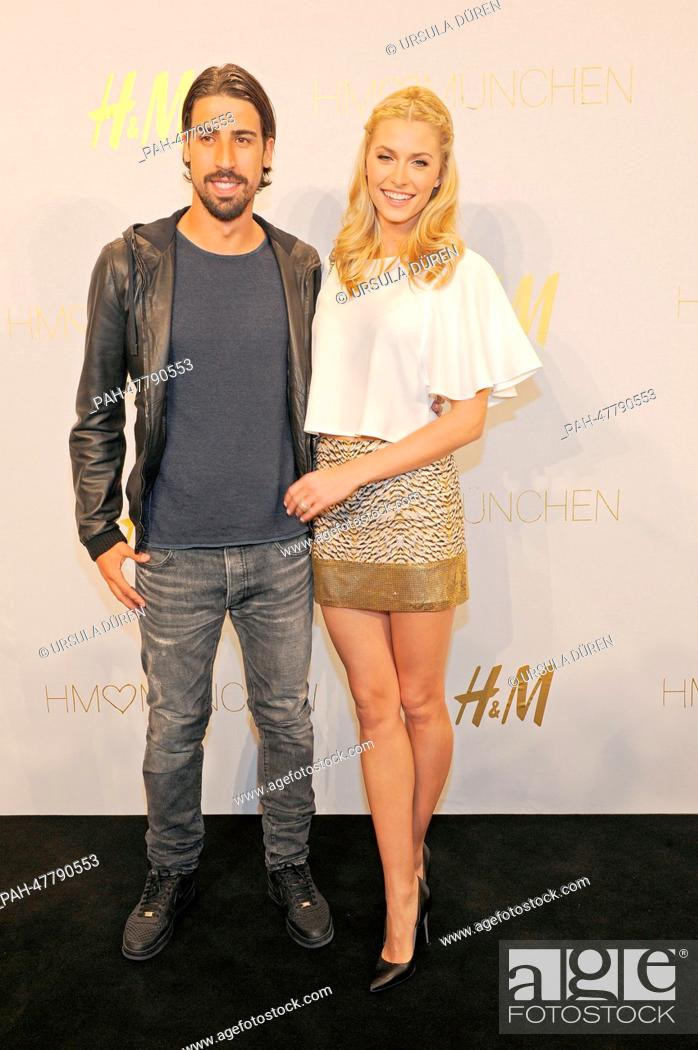 The Model Lena Gercke And Her Boyfriend And Football Player