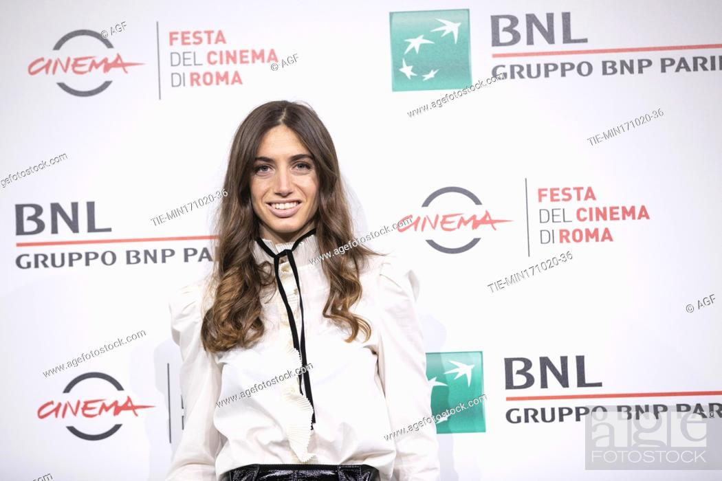"Stock Photo: Virginia Valsecchi attends the photocall of the movie """"Mi chiamo Francesco Totti"""" during the 15th Rome Film Festival on October 17, 2020 in Rome, Italy."