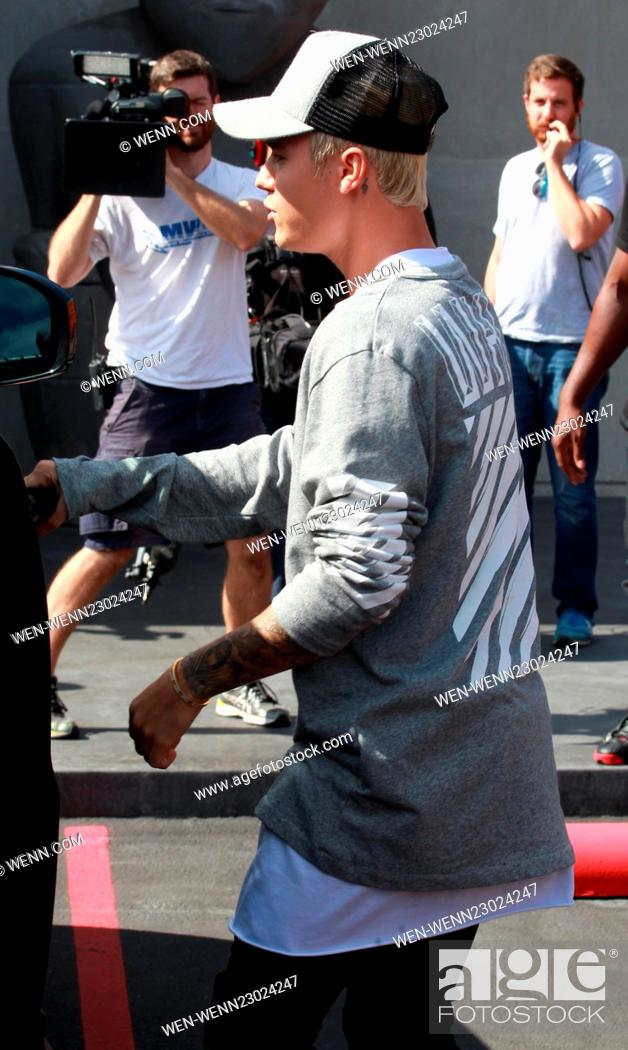 Imagen: Justin Bieber spotted filming at Maxisfield Featuring: Justin Bieber Where: Bevery Hills, California, United States When: 15 Oct 2015 Credit: WENN.com.