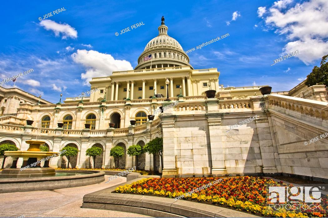 Imagen: Capitol Building, Washington D.C., USA.