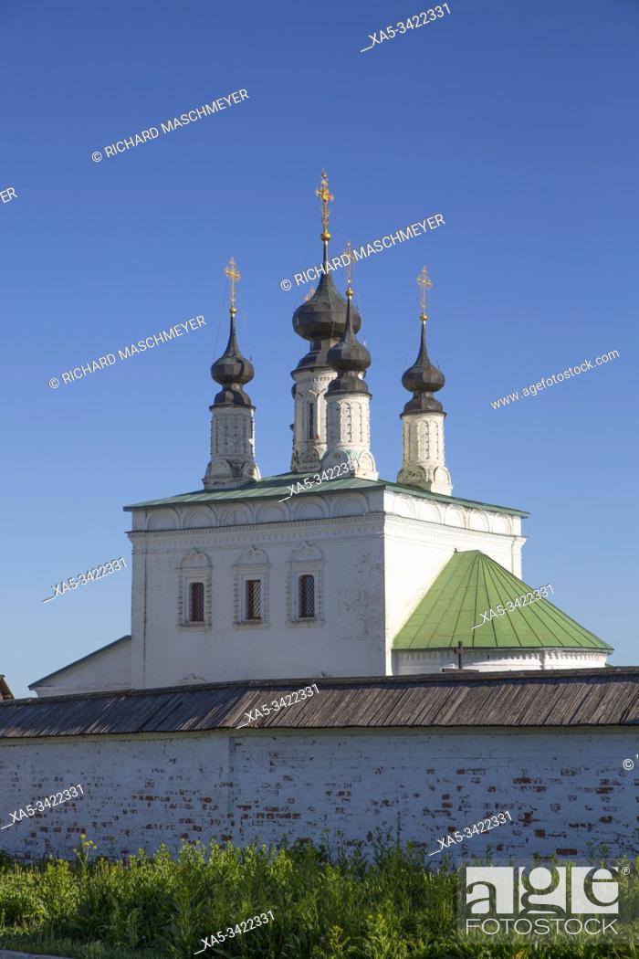 Imagen: Alexandrovsky Monastery, Suzdal, Vladimir Oblast, Russia.