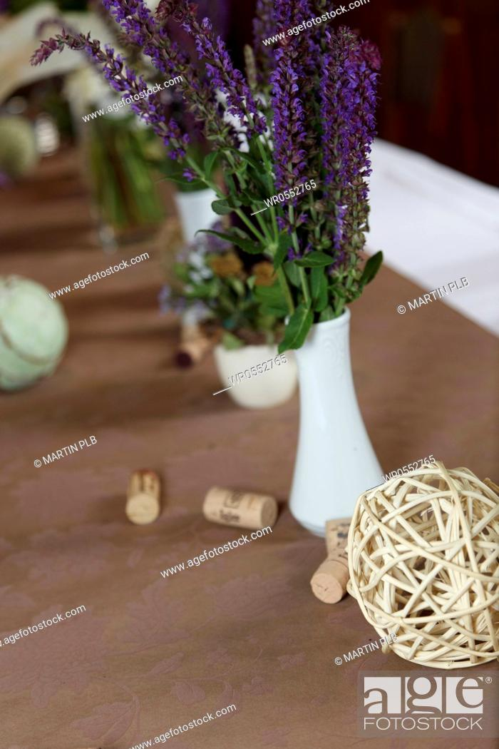 Imagen: table decoration for wedding.