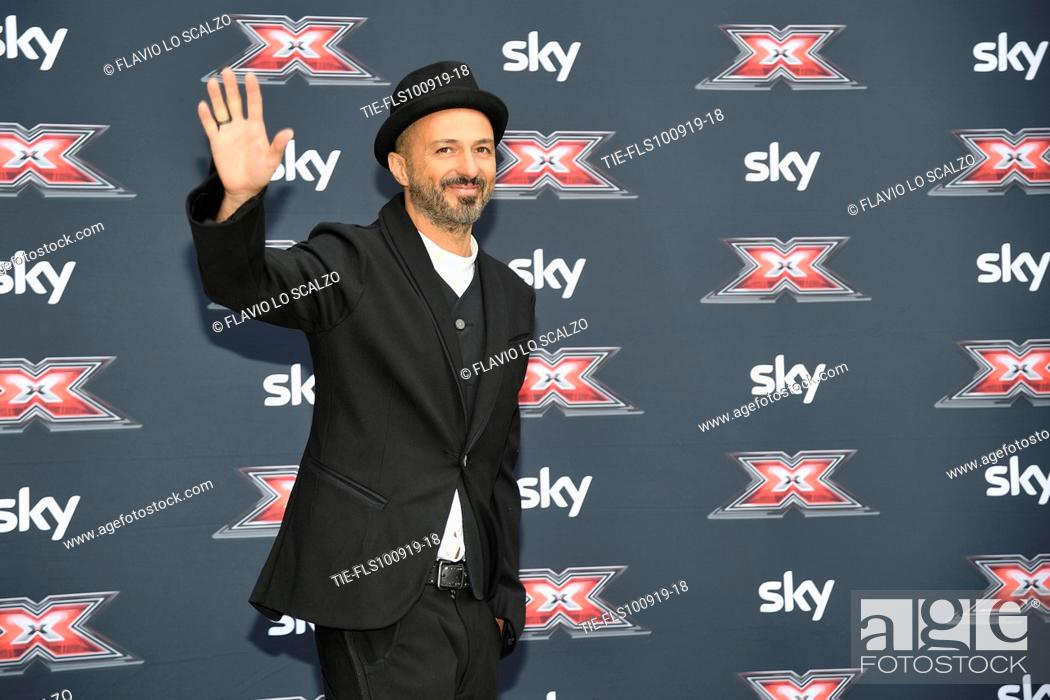 Stock Photo: The singer Samuel during the photocall of X Factor 2019, Milan, ITALY-10-09-2019.