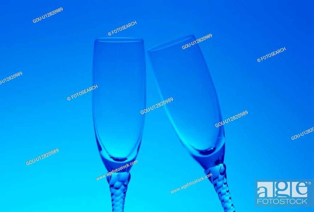 Stock Photo: Two Glasses.