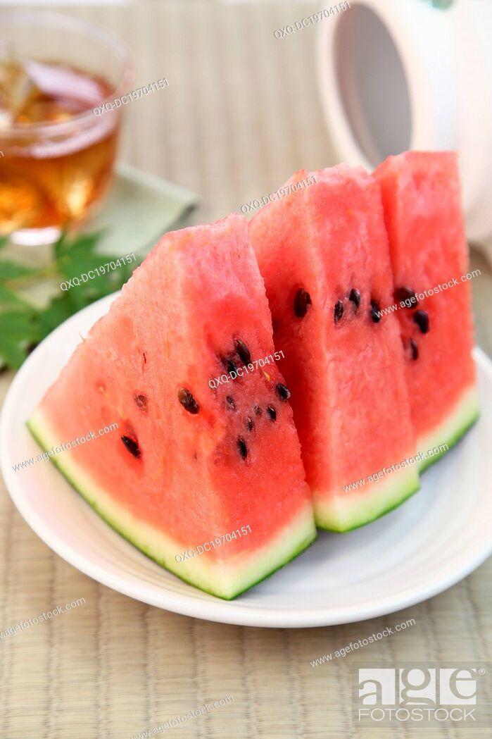 Imagen: Sliced Watermelon.