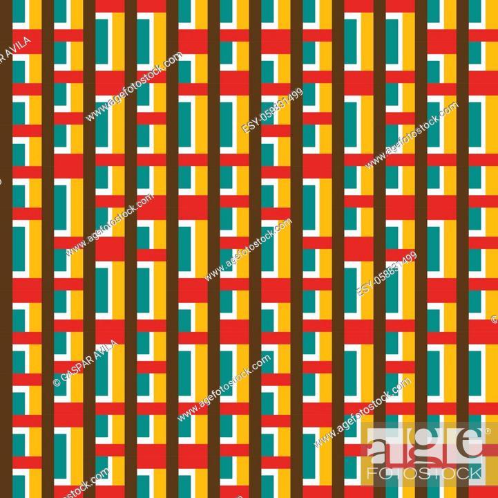 Stock Vector: Geometric pattern.
