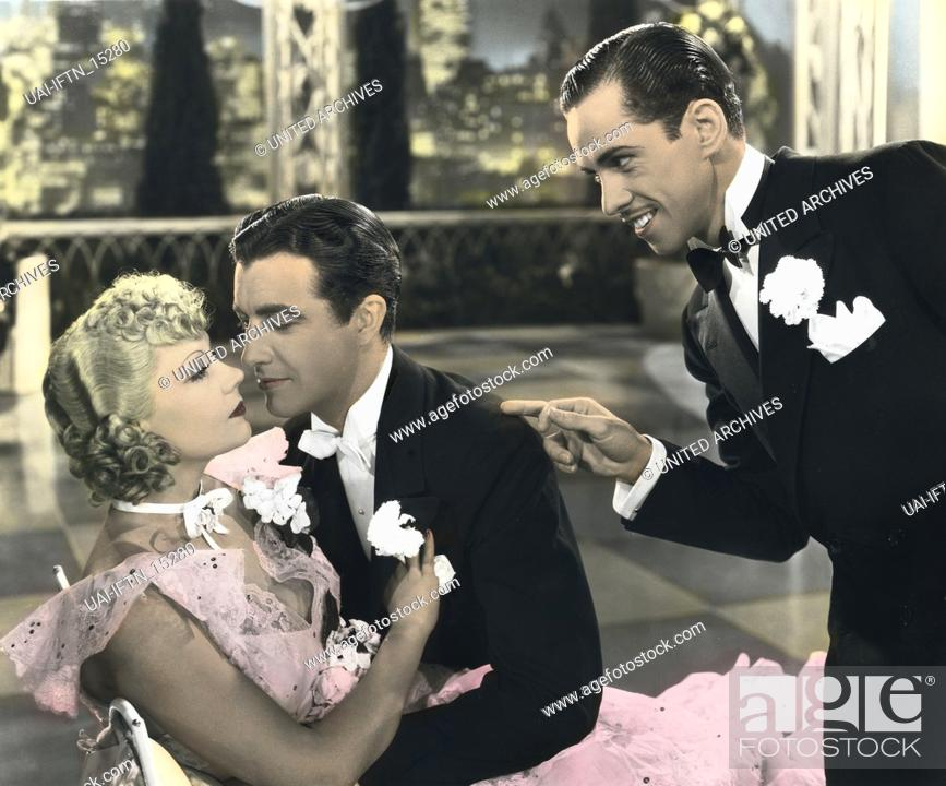 Photo de stock: Broadway Melody of 1936, USA 1935 Regie: Roy Del Ruth Darsteller: Jack Benny, Eleanor Powell, Robert Taylor.