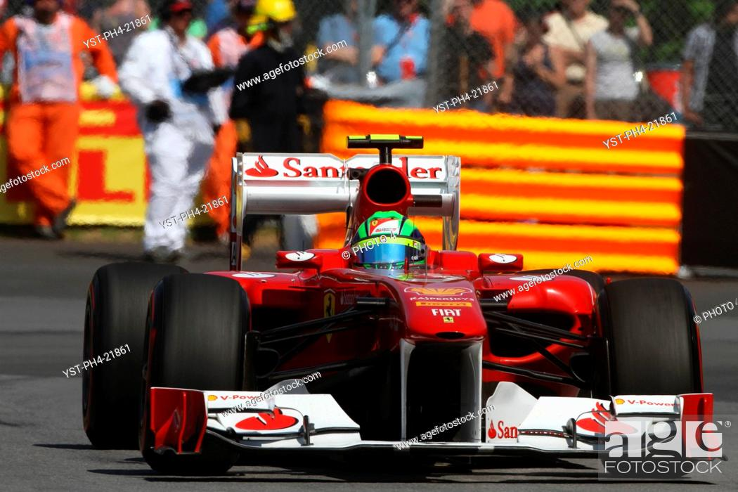 Stock Photo: Felipe Massa, Friday Practice, Formula One, Canadian Grand Prix, Montreal, Canada.