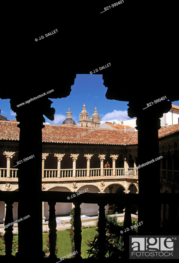 Stock Photo: 'Las Dueñas' Convent at Salmanca. Spain.