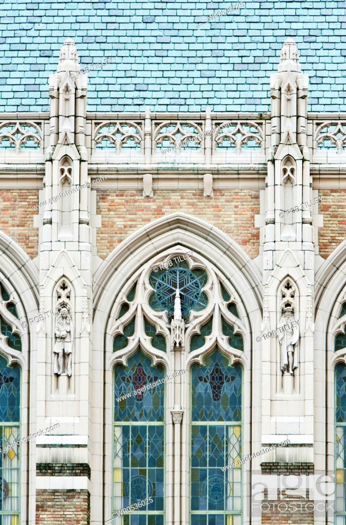 Imagen: Library Facade.