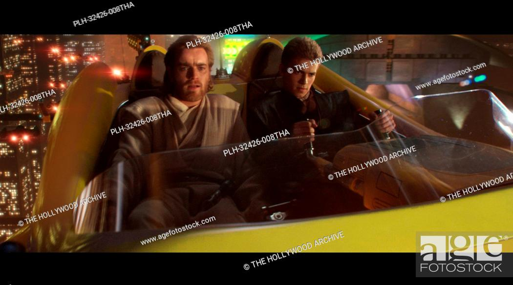 Imagen: Hayden Christensen, Ewan McGregor, 'Star Wars Episode II: Attack of the Clones' (2002).