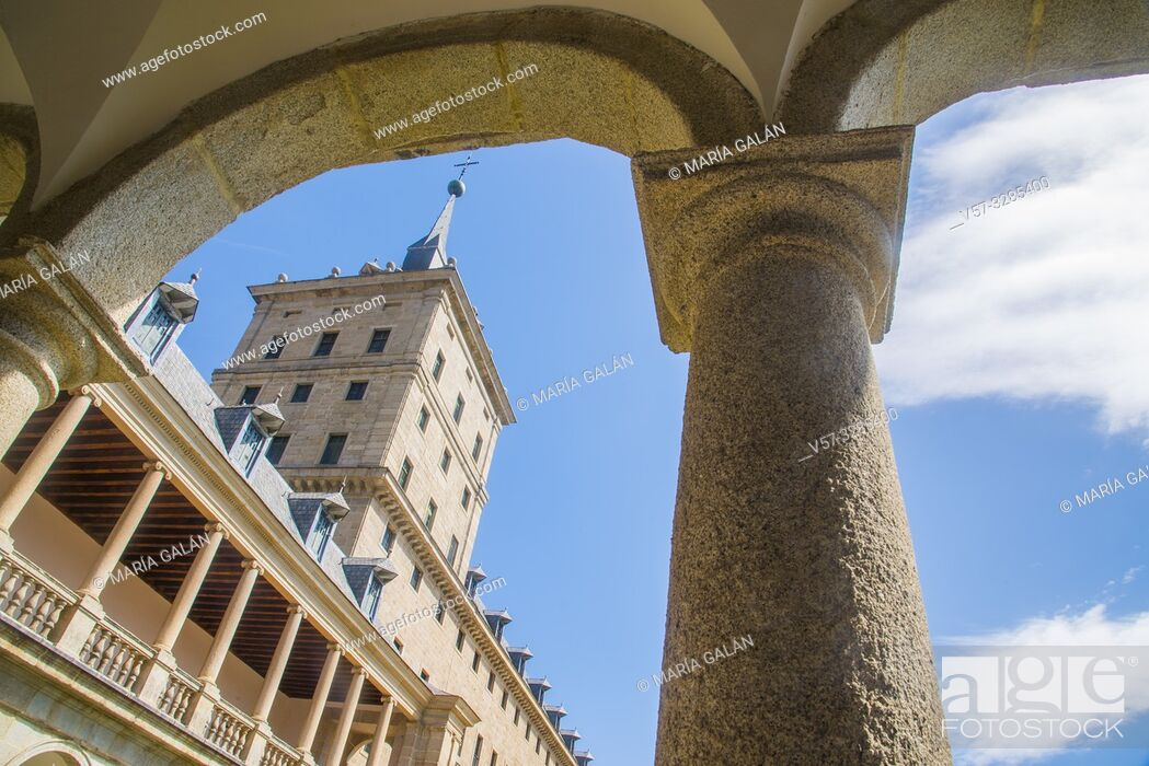 Imagen: Royal Monastery. San Lorenzo del Escorial, Madrid province, Spain.