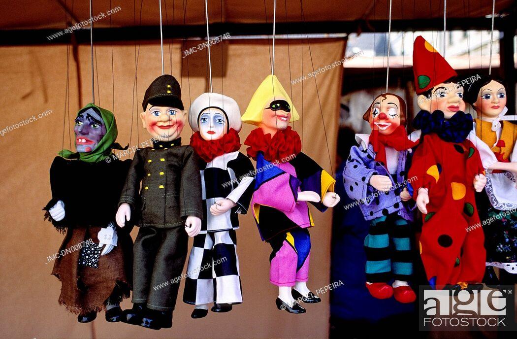 Imagen: Czech republic, Prague, old city, puppets.