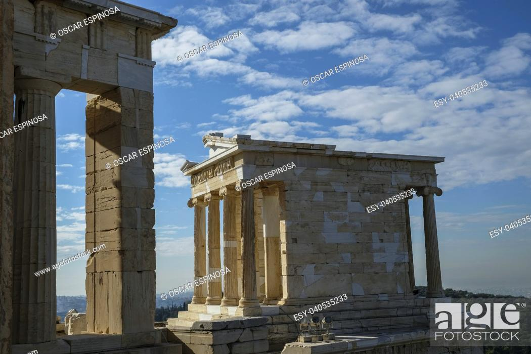 Imagen: The Acropolis in Athens, Greece.