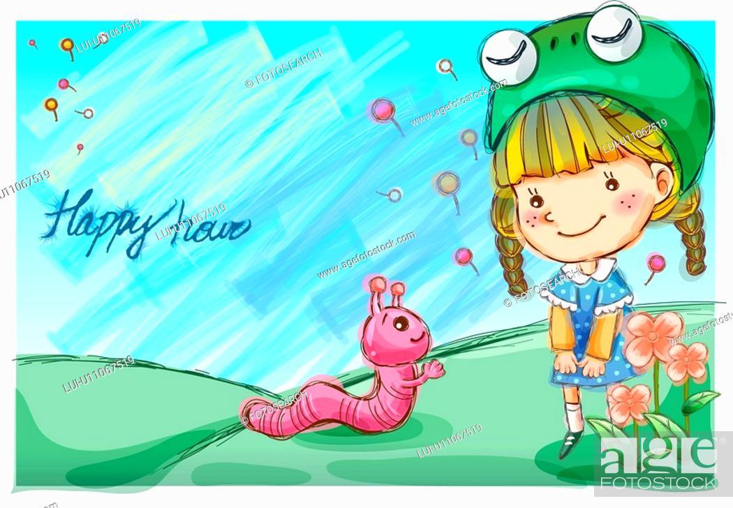 Stock Photo: imagine, fairy tale, imaginative, imagination, fancy, nature.