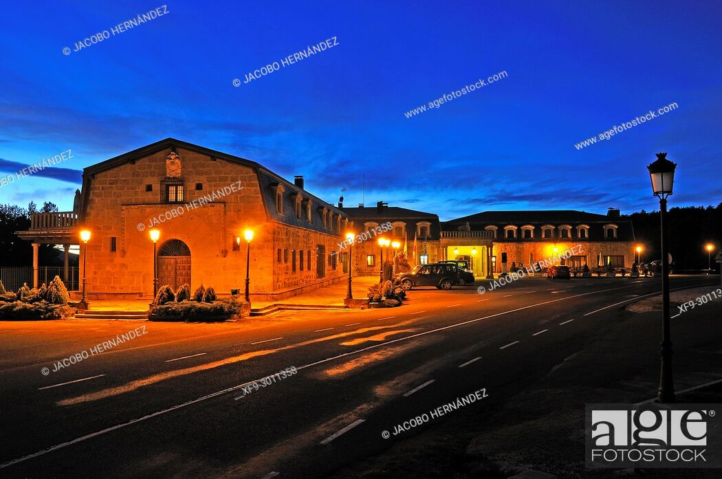 Stock Photo: Parador Nacional de Gredos. Gredos mountains. Navarredonda de Gredos. Avila province. Castilla y León. Spain.