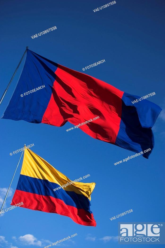 Stock Photo: Outdoors, Flag.