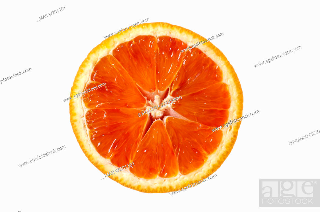 Stock Photo: tarocco orange.