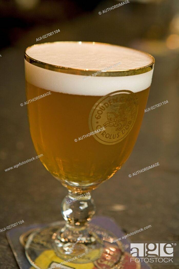 Stock Photo: Belgium - Flanders - Mechelen - Brewery Het Anker - Beer the Gouden Carolus.