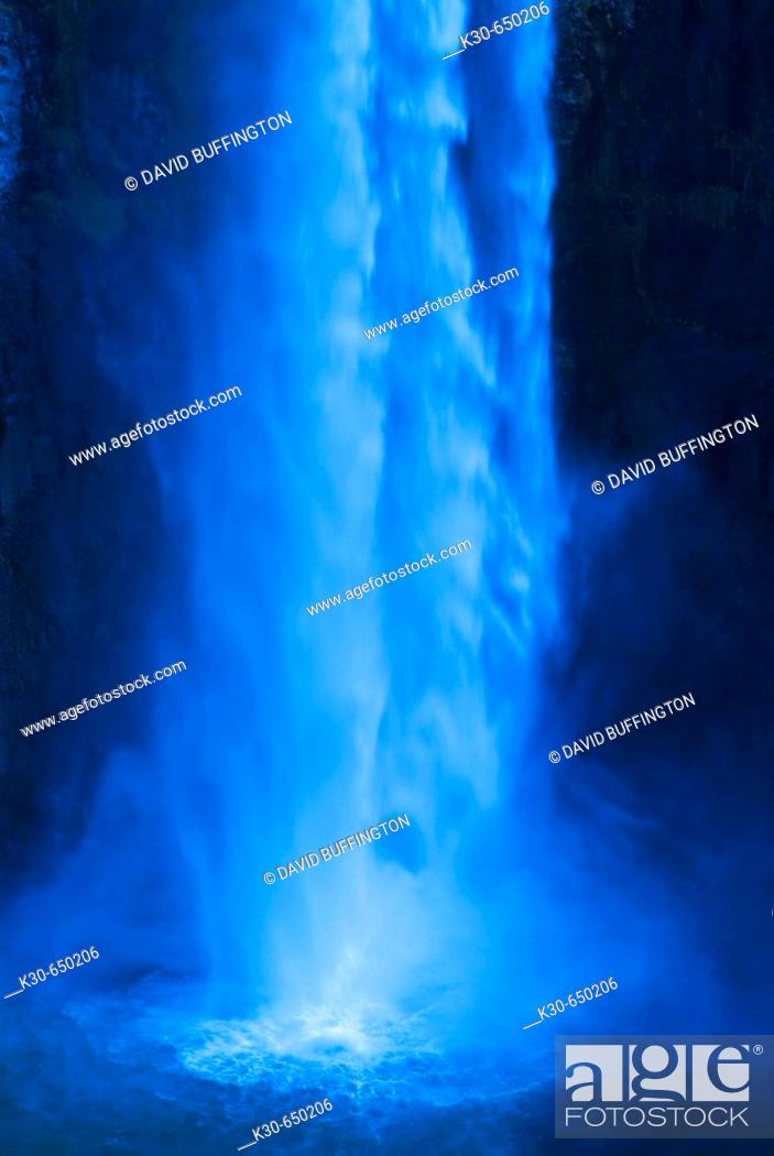 Stock Photo: Palouse River, Palouse Falls, Washington, USA.