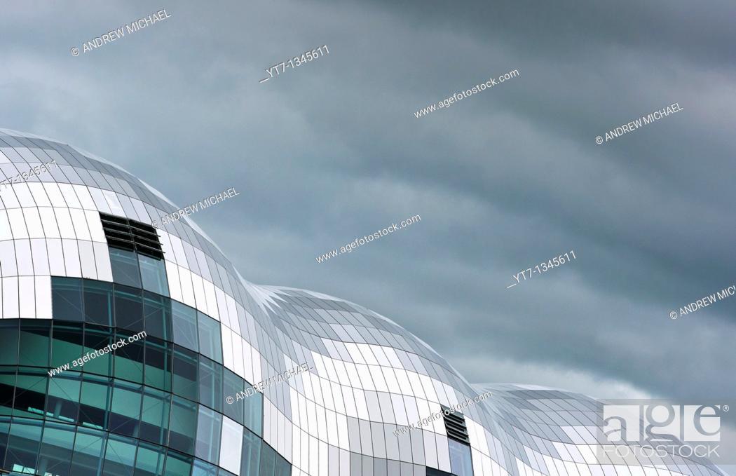 Stock Photo: The Sage building, Newcastle upon Tyne, UK.