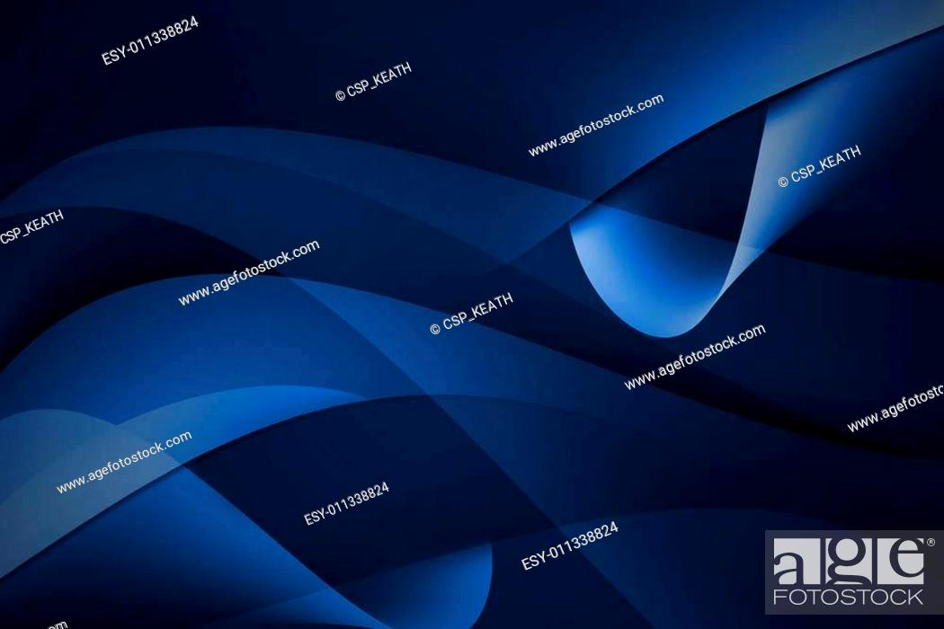 Imagen: abstract curve blue background.