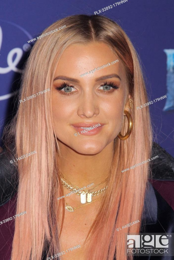 "Stock Photo: Ashlee Simpson 11/07/2019 The World Premiere of """"Frozen 2"""" held at the Dolby Theatre in Los Angeles, CA. Photo by I. Hasegawa / HNW / PictureLux."