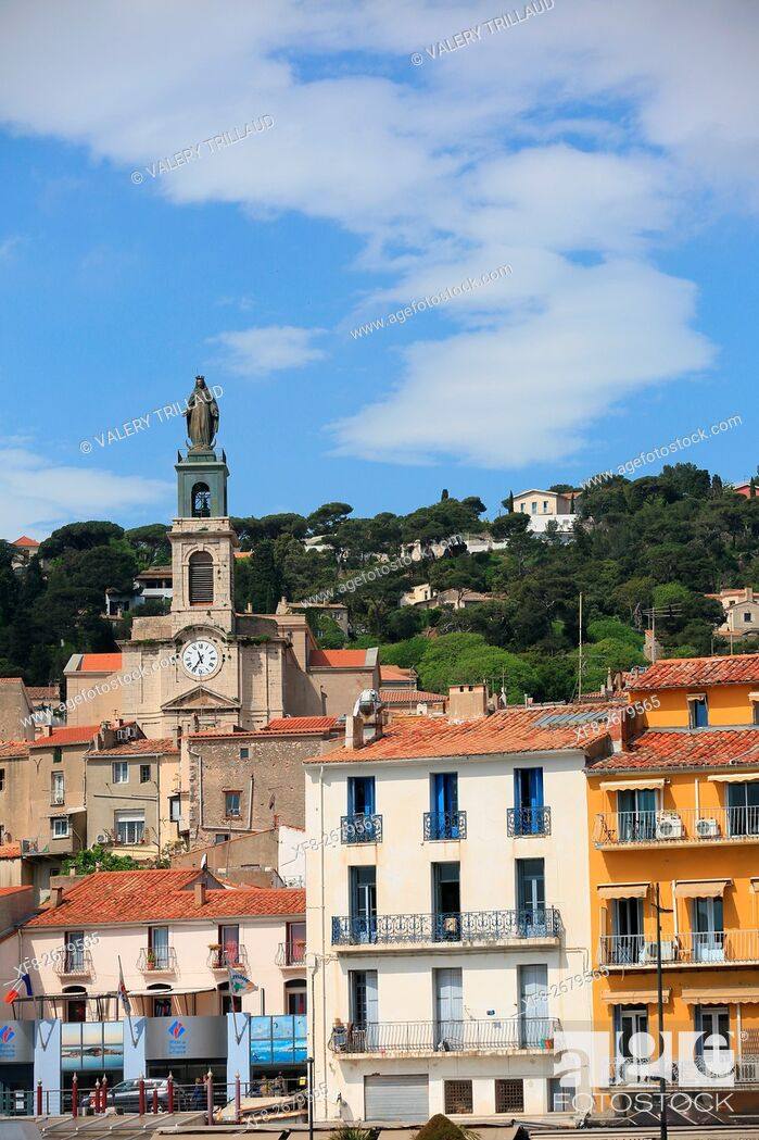 Stock Photo: The city of Sete, Herault, Languedoc Roussillon, France.