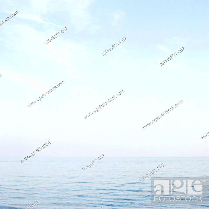 Stock Photo: Sea and sky.