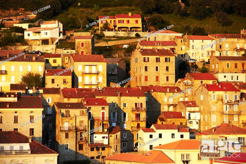 Stock Photo: Sartene, South Corsica, Corsica, France.