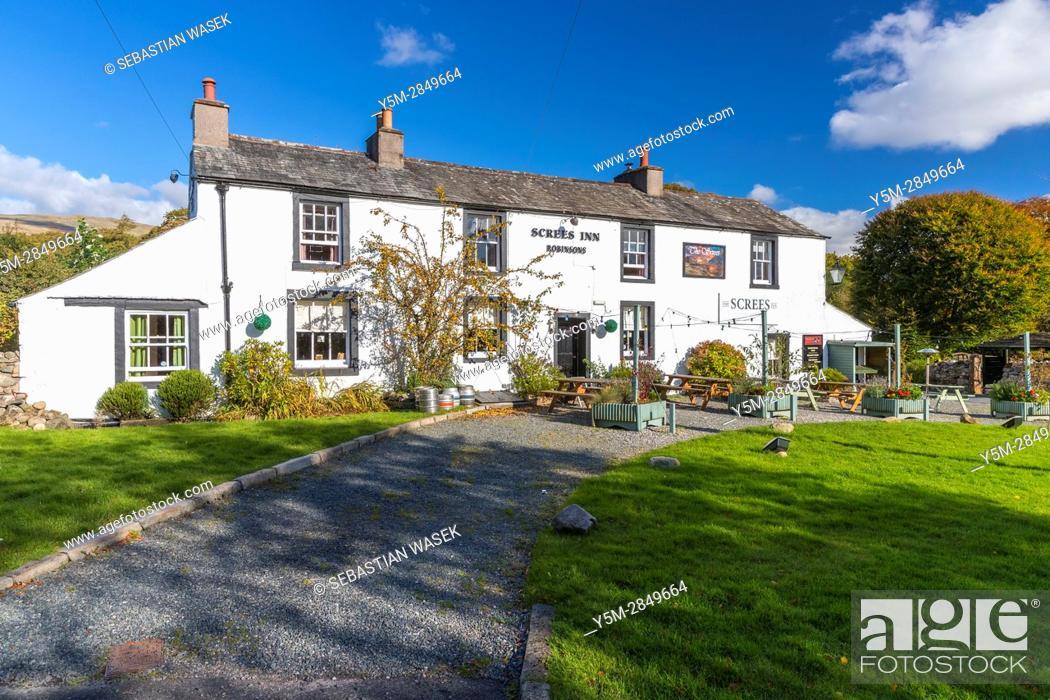 Stock Photo: Nether Wasdale, Lake District National Park, Cumbria, England, United Kingdom, Europe.