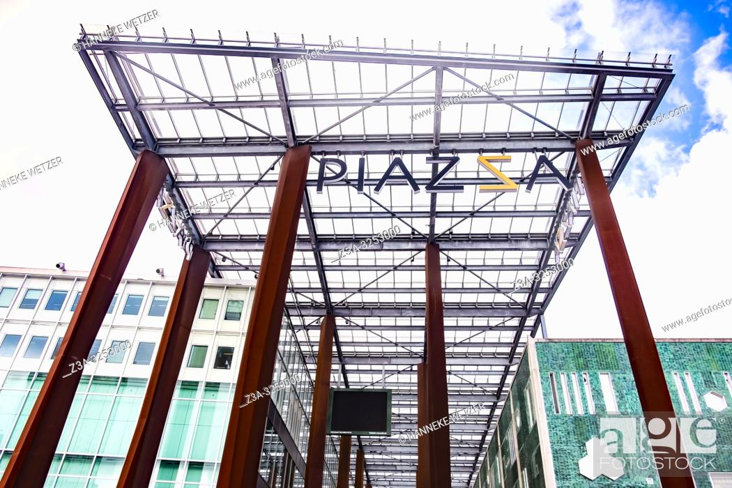 Piazza shopping center in Eindhoven, The Netherlands, Europe