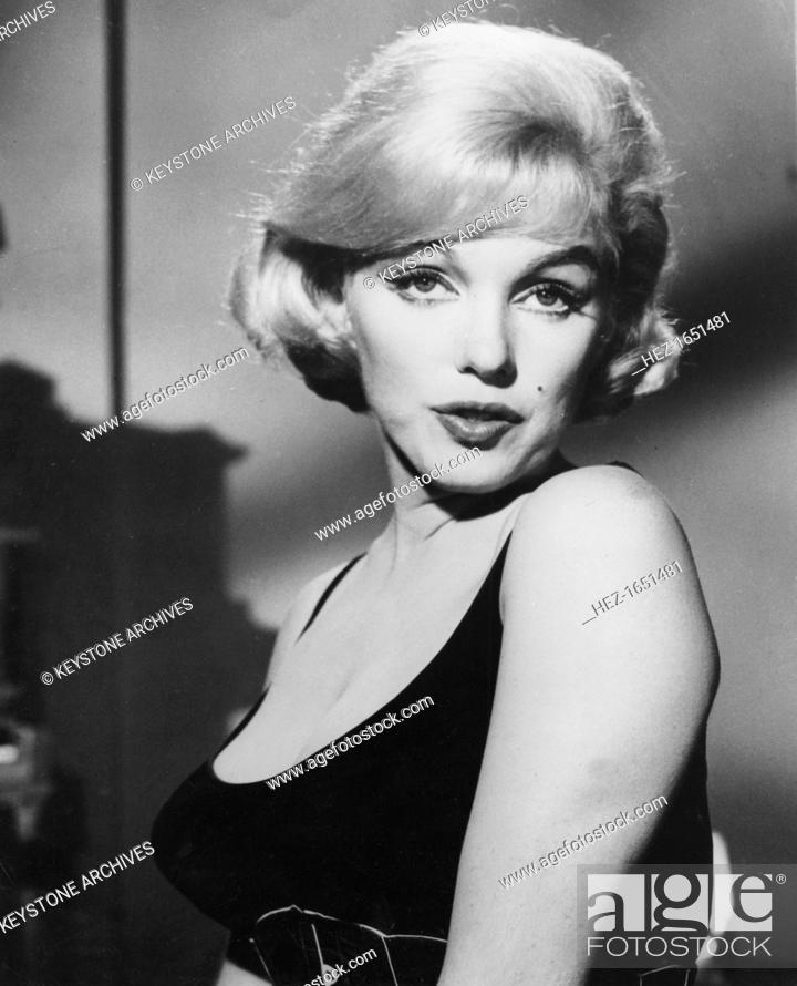 Marilyn Monroe American Actress And Film Star One Of The Cultural