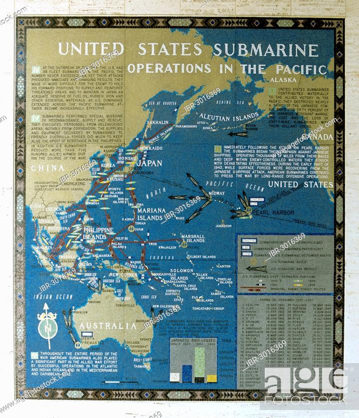 Mosaic map of the successfully completed American operations ...