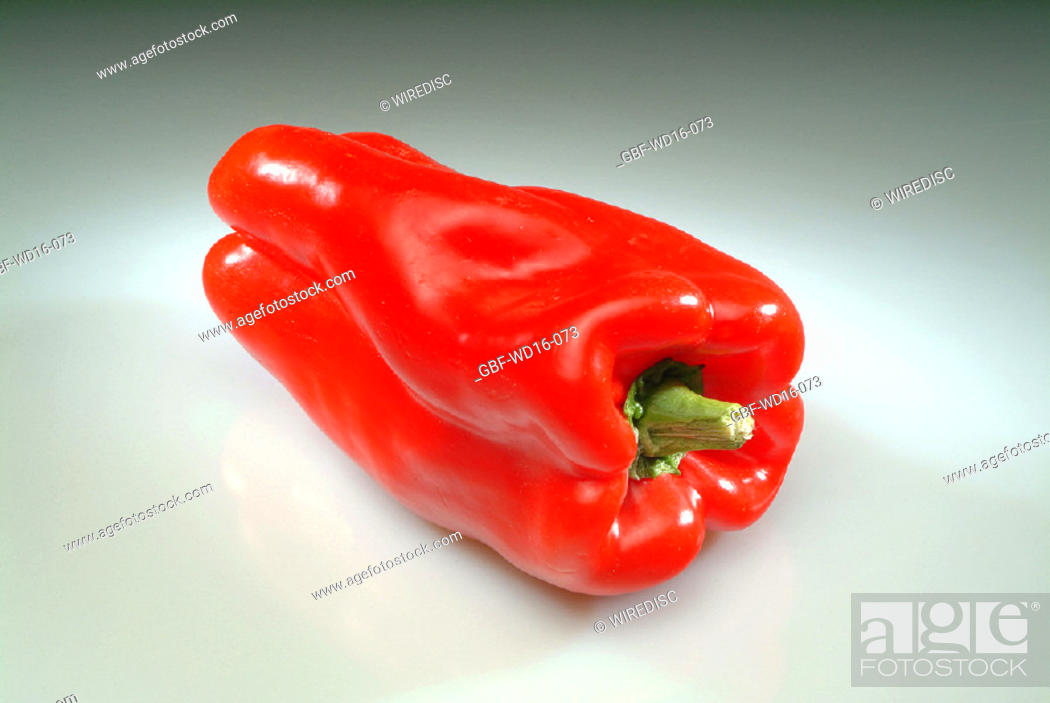 Stock Photo: Food, vegetables, pepper.