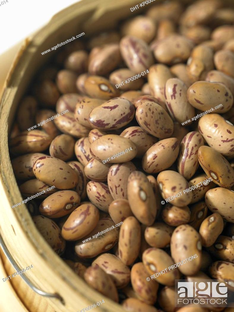 Stock Photo: Food - Borlotti Beans.