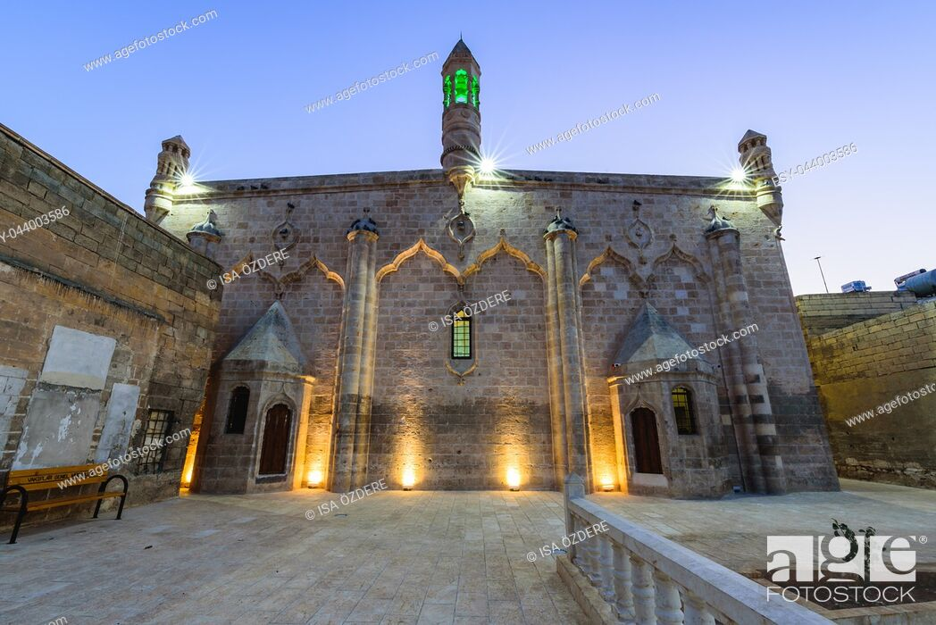 Imagen: Now Firfirli mosque, before Armenian church;Germus Church or Surp Asdvadzadzin Church, is located in Sanliurfa,Turkey. 19 July 2018.