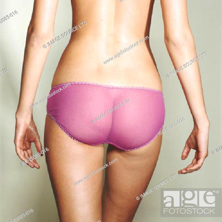 Stock Photo: Female bottom.
