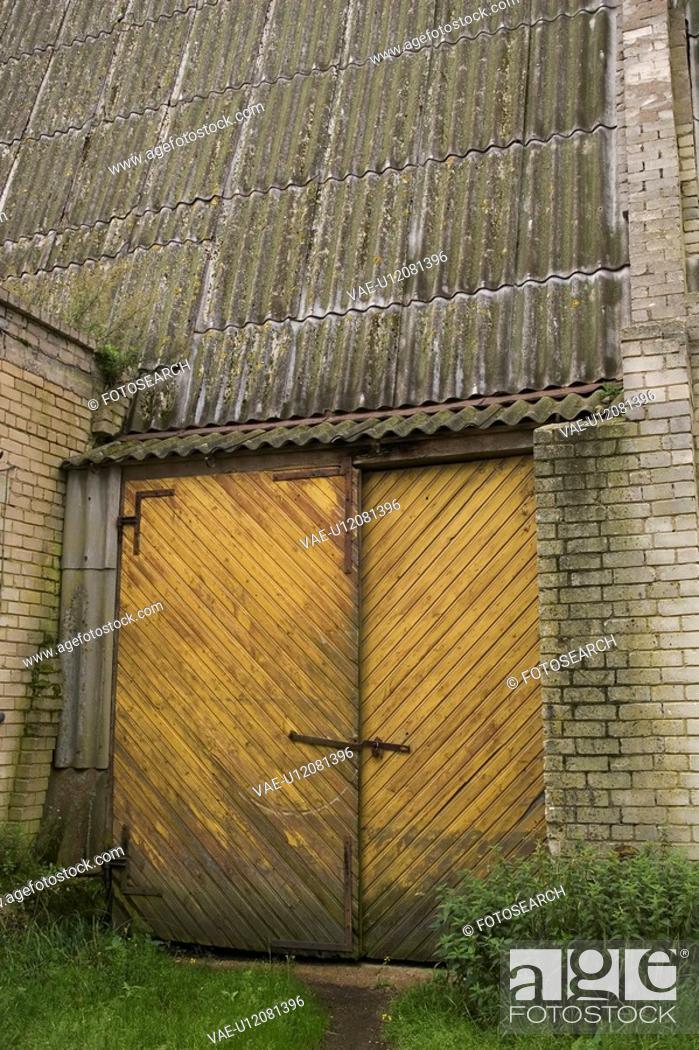Stock Photo: Entrance, Exit.