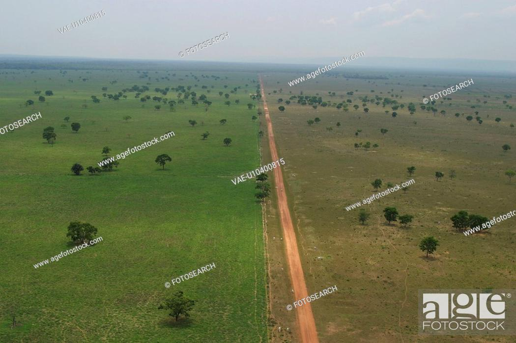 Stock Photo: agriculture, brown, aerial view.