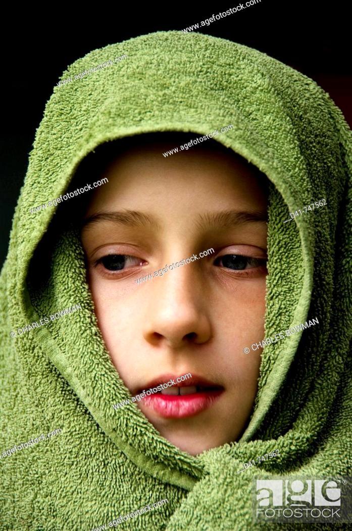 Stock Photo: girl child portrait.