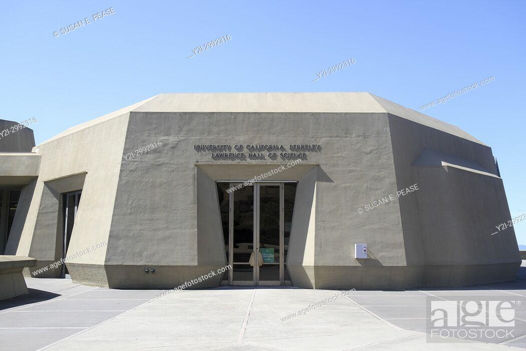Stock Photo: Lawrence Hall of Science, University of California, Berkeley, California, United States.