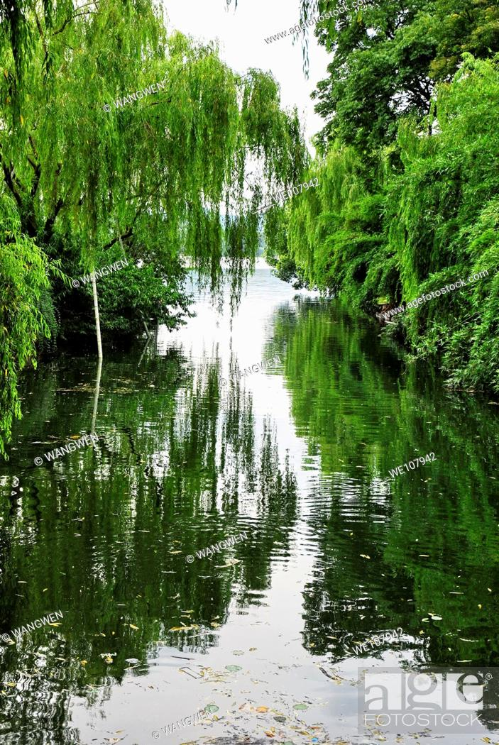 Stock Photo: Hangzhou west lake scenery.